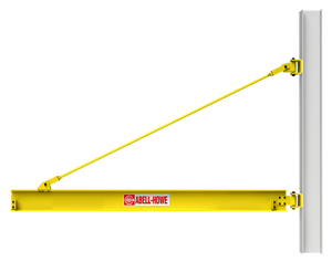 Wall Mounted Tie Rod Jib Crane